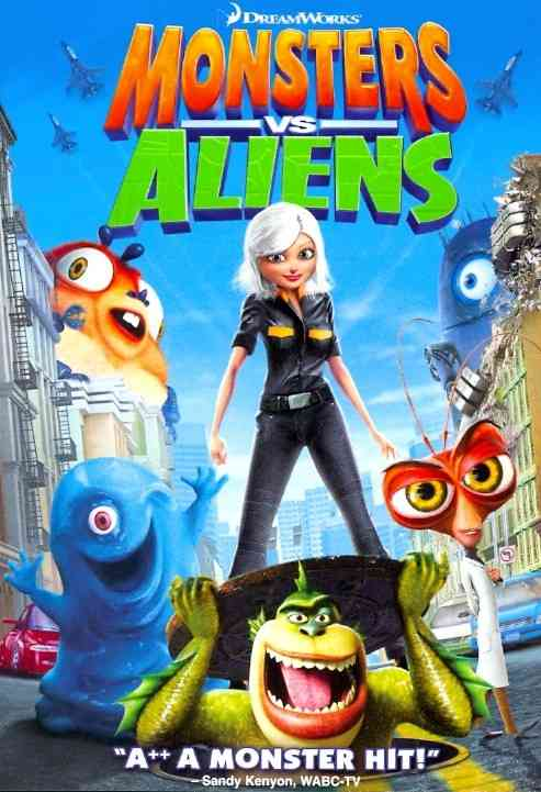 MONSTERS VS ALIENS BY WITHERSPOON,REESE (DVD)